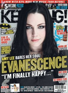 Интервью Эми Ли журналу Kerrang! 2011 года